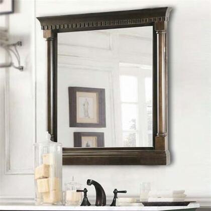 Legion Furniture WLF6036M Mirror With Antique Coffee Finish in Antique Coffee