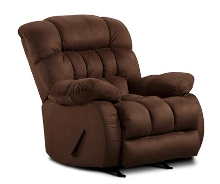 Chelsea Home Furniture 479200 Milo Recliner with 16 Gauge Border Wire, Solid Kiln Dried Hardwoods, Sinuous Springs, H-Density Foam Cores and Dacron Polyester Wrap in