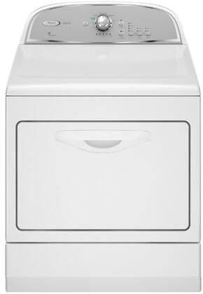 """Whirlpool WED5550XW 27"""" Electric Dryer  Appliances Connection"""
