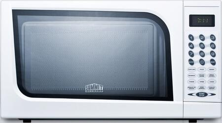 Summit SM901WH White Countertop Microwave