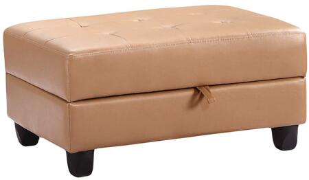 Glory Furniture G301O  Bycast Leather Ottoman