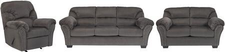 Milo Italia MI9042SLRCHAR Madison Living Room Sets