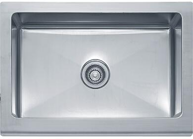Franke MHX710X Manor House Series Apront Front Single Bowl Sink in Stainless Steel