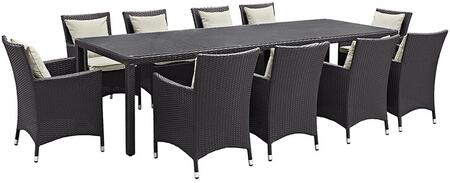 Modway EEI2219EXPBEISET Rectangular Shape Patio Sets