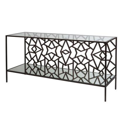 Allan Copley Designs 2140103 61.5x18x30 Cracked Ice Console Table