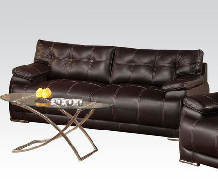 Acme Furniture 51740 Terrence Series  Bycast Leather Sofa