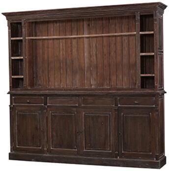 Bramble 25768 Homestead Series Freestanding Wood 2 Drawers Cabinet