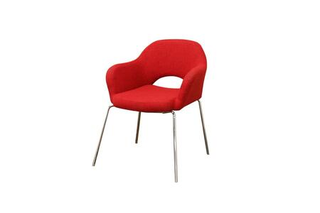Wholesale Interiors DC506RED Mid Century Series  in Red