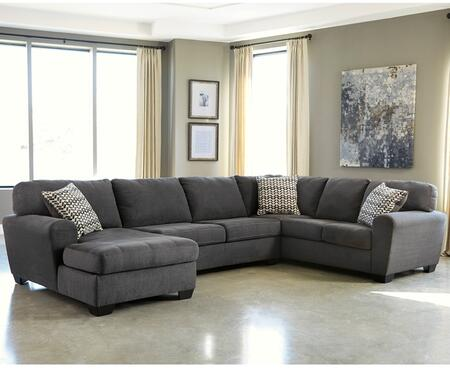 Flash Furniture FBC2869SEC3RAFSSLAGG Sorenton Series Stationary Fabric Sofa