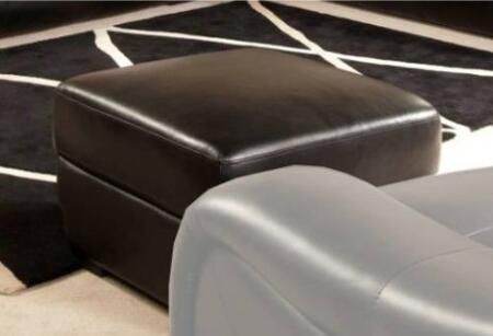 Novo Home 1026OT Soho Series Transitional Leather Ottoman