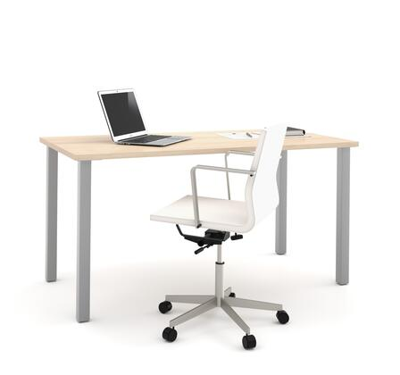 Bestar Furniture 150402 i3 by Bestar Table with metal legs