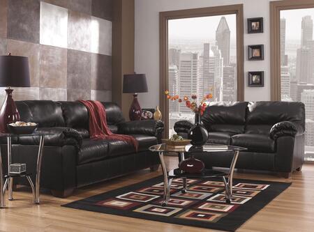 Milo Italia MI2297SLBLAC Kaylynn Living Room Sets