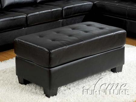 Acme Furniture 05213 Contemporary Leather Ottoman