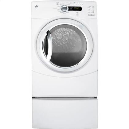 "GE GFDS350GLWW 27"" Gas Dryer"