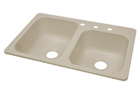 Lyons DKS02ZTB Kitchen Sink