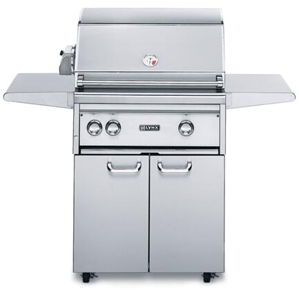 Lynx L27PSFR2L Freestanding Liquid Propane Grill, in Stainless Steel