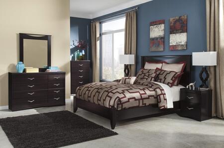 Milo Italia BR3165658DMNS Maldonado King Bedroom Sets