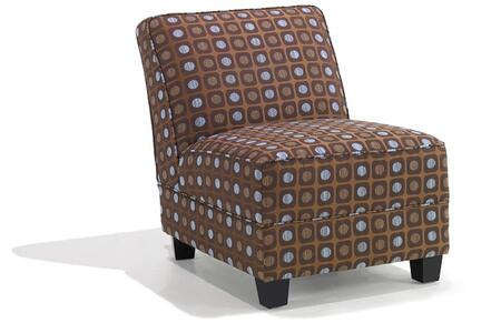 Armen Living LC296CHMFBR Canyon Series  in Brown and Blue