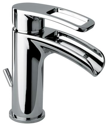 Jewel Faucets 10211WFSXX Single Loop Handle Lavatory Faucet With Waterfall Spout