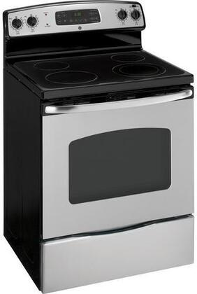 "GE JB400SPSS Electric Smoothtop 30""4 No No Freestanding Range 