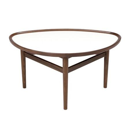 EdgeMod EM178WAL Walnut Mid-Century Table