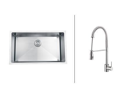 Ruvati RVC2326 Kitchen Sink
