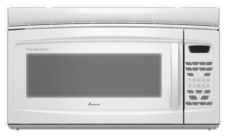 Amana AMV2174VAW 1.7 cu. ft. Capacity Over the Range Microwave Oven