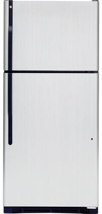 GE GTL18JCPBS  Refrigerator with 18.0 cu. ft. Capacity in Stainless Steel