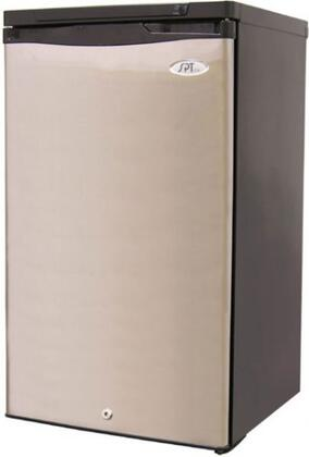 Sunpentown UF311S  Counter Depth Freezer with 2.8 cu. ft./ 87 liters Capacity in Stainless Steel