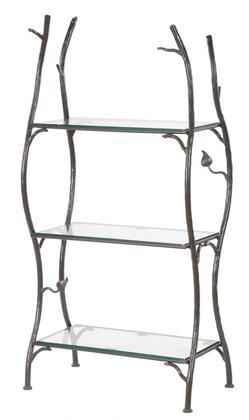 Stone County Ironworks 900-265 Sassafras Standing Shelf Double Width 3-Tier