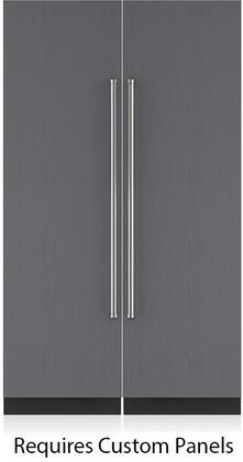 Sub-Zero 710312 Side-By-Side Refrigerators