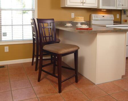 Atlantic Furniture MONTEGOBAYCCPCAW Montego Bay Series  Bar Stool