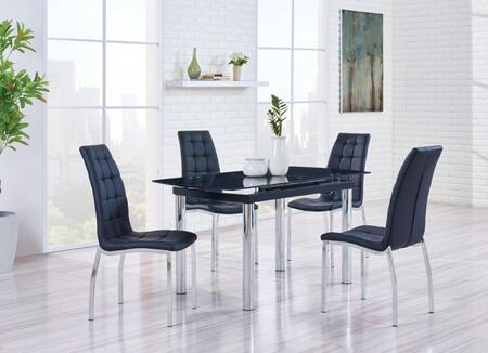 Global Furniture Usa D30dt4d716dc D30 Series Dining Room Set