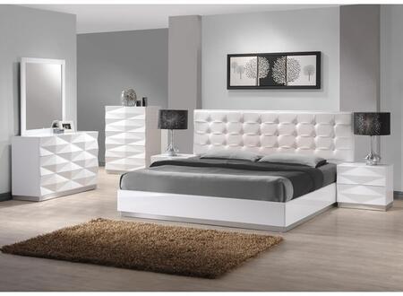 JandM Furniture Verona 2 Drawer Nightstand 17688 NS