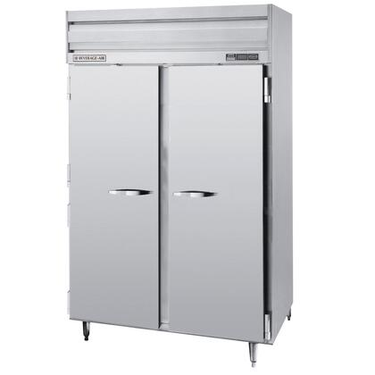 PRF24-24-1 Two Section [Half Door] Dual Temperature Reach-In Refrigerator/Freezer