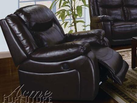 Acme Furniture 50102 Moreno Series Modern Leather  Recliners