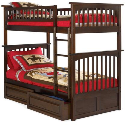 Atlantic Furniture AB55124  Twin Size Bunk Bed