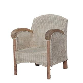 Bramble 23139 Nantucket Series Armchair Not Upholstered Wood Frame Accent Chair