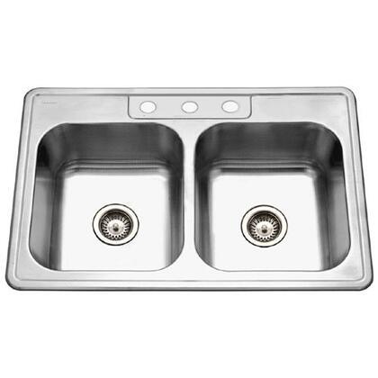 Houzer 33228BS31 Kitchen Sink