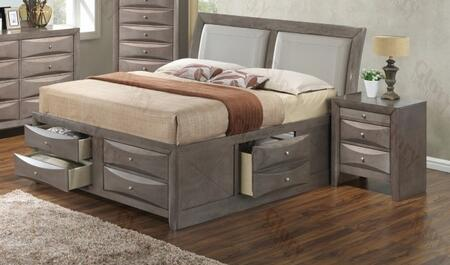 Glory Furniture G1505IQSB4N G1505 Queen Bedroom Sets