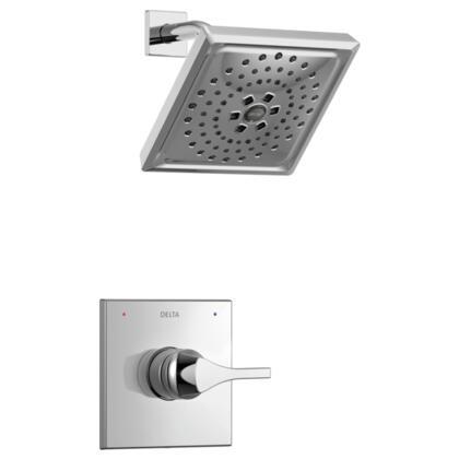 Zura T14274 Delta Zura: Monitor 14 Series H2Okinetic Shower Trim in Chrome