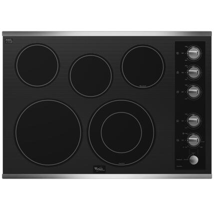 Whirlpool G7CE3055XS Gold Series Electric Cooktop