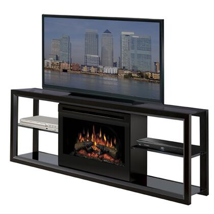 "Dimplex SAP-300-X Novara Collection Media Console - Supports up to a60"" Flat Screen TV, 25"" Landscape Firebox:"