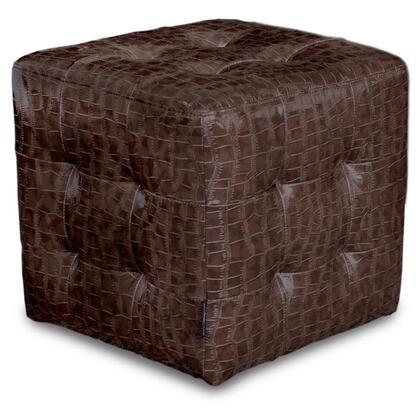Diamond Sofa ZENCUBECROCM Zen Series Contemporary  Ottoman