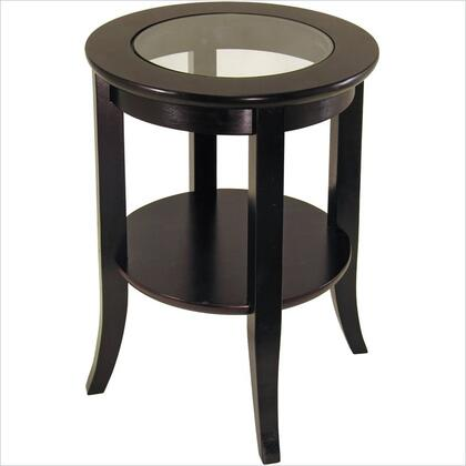 Winsome 92218 Genoa Series  End Table