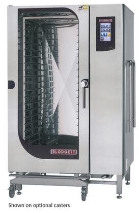 Blodgett BLCT Single Gas Boilerless Combination-Oven Steamer with Touchscreen Control, Multiple modes, Self cleaning system. Capacity: