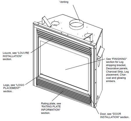 Napoleon GD70PTS  Liquid Propane Fireplace