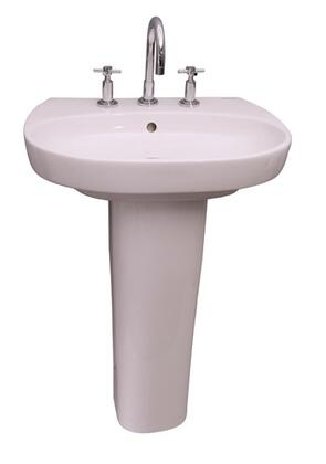 Barclay 3928WH White Bath Sink