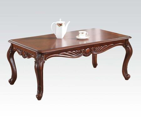 Acme Furniture 10240 Brown Cherry Traditional Table