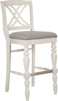 Broyhill 4024593 Mirren Pointe Series Residential Fabric Upholstered Bar Stool